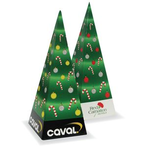 Promotional Christmas Tree Sweet Boxes for merchandise gifts