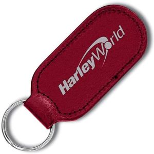 Custom Designed Keyfob with Campaign Logos