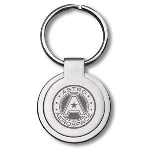 Personalised Classic Metal Round Keyrings are a superb value stylish range of keyrings in a satin metal finish