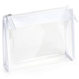 Promotional Clear PVC Toiletry Bags for Business Gifts