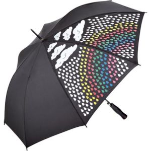 Promotional Fare Colour Magic Automatic Umbrellas for Event Merchandise