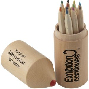 Branded Colouring Pencils Topper Set for School Merchandise