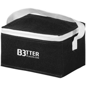 Compact Cooler Bag in Black