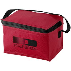 Compact Cooler Bag in Red