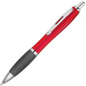 Promotional Contour Colour Ballpens with company logo