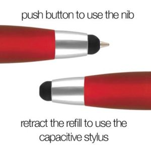 Contour Stylus Ballpens