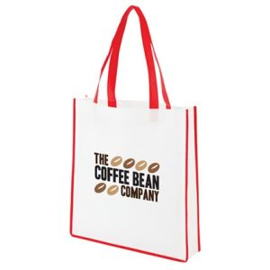 Contrast Shopper Bags