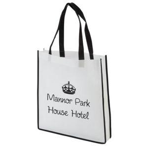 Contrast Shopper Bags