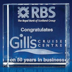 Branded Crystal Paperweights for Luxury Office Gifts