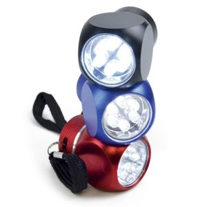Promotional Cube LED Torches available in 3 eye catching colours