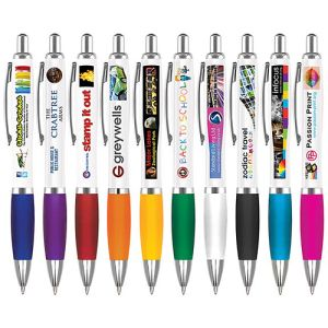 The Branded Contour Gel Pen is Available in a Range of Vibrant Colours
