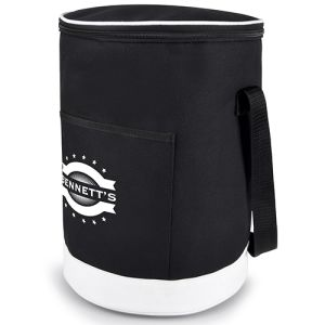 Custom branded Cylinder Cooler Bags with logo