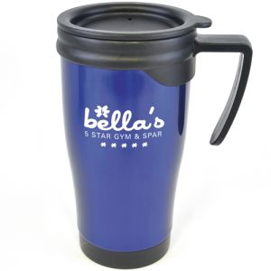 Dali Colour Stainless Steel Travel Mugs