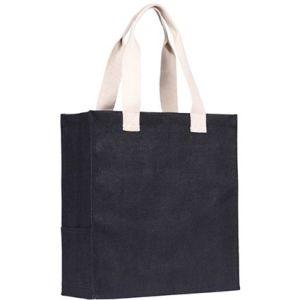 Dargate Jute Tote Bags in Black