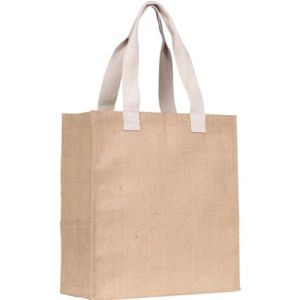Dargate Jute Tote Bags in Natural