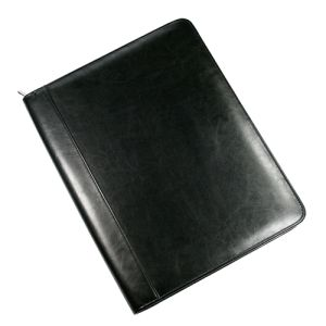 Darwin A4 PU Zipped Conference Folders