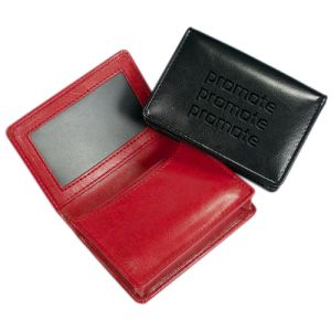 RFID Darwin PU Business Card Holders
