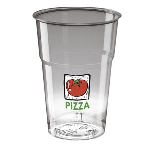 20oz Disposable Pint Tumblers in Clear