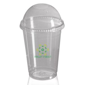 Lidded Disposable Smoothie Cup