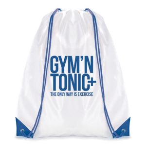 Printed Drawstring Bag for Exhibition Merchandise
