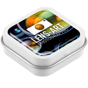 Domed Logo Mini Mint Tins