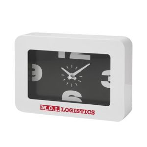 Promotional Domino Desk Clocks for corporate gifts