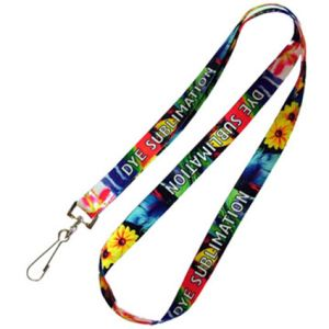 Printed Dye Sublimation Lanyards with company branding