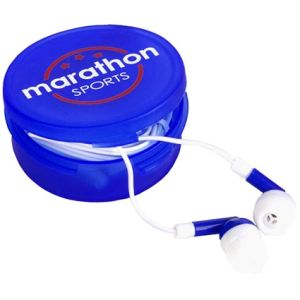 Custom printed Earbuds merchandise gifts