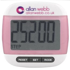 Branded Pedometers are perfect as gym merchandise