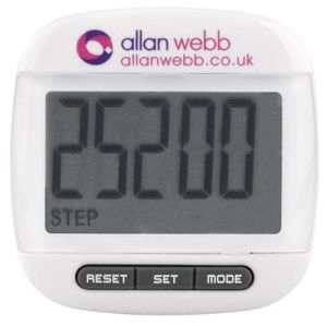Promotional Easy View Pedometers for Fitness Campaigns