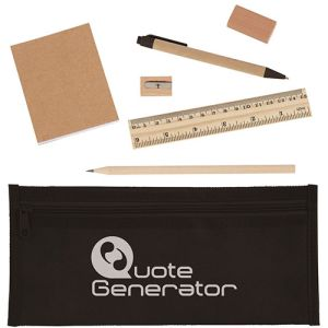 Promotional pencil cases for school giveaways