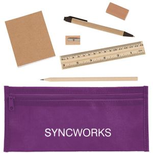 Printed stationery kits for freshers merchandise