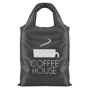 Promotional Folding Shopping Bag for printed merchandise
