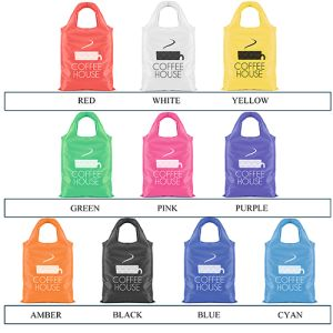 Branded Eliss Folding Shopping Bags for promotional ideas