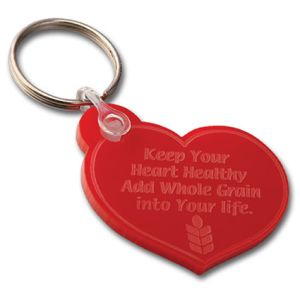 Promotional key chains for advertising campaigns