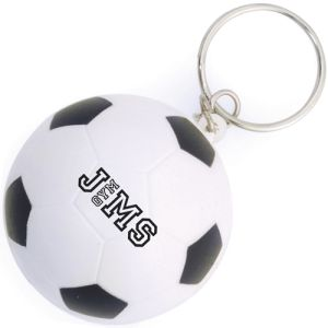 Personalised Express Stress Football Keyrings for Sporting Merchandise