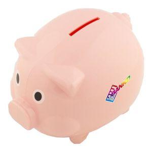 Branded piggy banks for desktop advertising