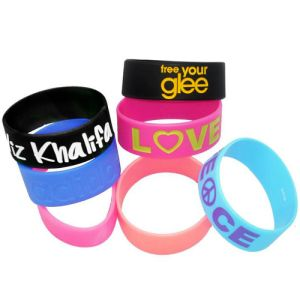 Extra Wide Silicone Wristbands