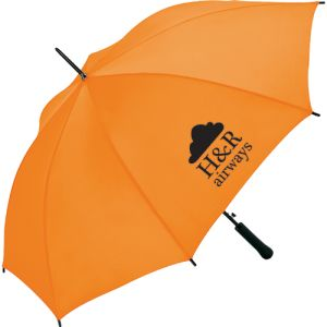 Promotional Fare Automatic Umbrellas with company logos