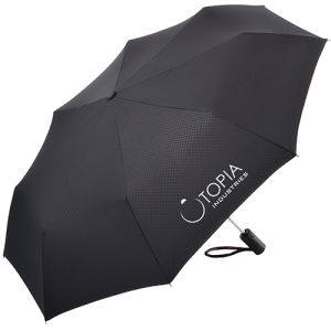 Promotional Fare Safety Telescopic Umbrellas for Business Gifts
