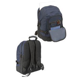 Faversham Laptop Backpack in Navy