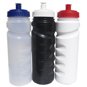 Promotional grip sports bottle for printing with company designs