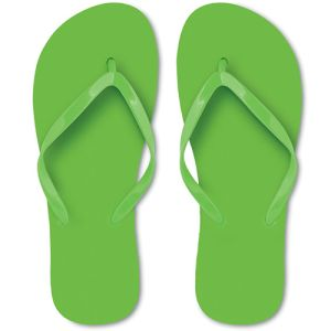 Flip Flops in Lime