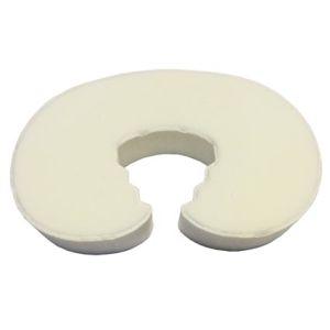 Foam Doorstopper in White