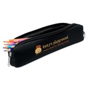 Foam Pencil Cases in Black