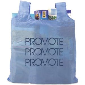 Printed Fold Up Shopping Bags are perfect for slipping into your bag or pocket