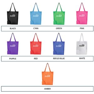 Personalised Folding Bags for Event Ideas colour list