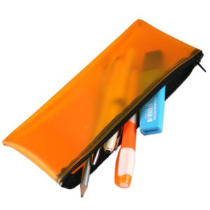 Frosted PVC Pencil Case