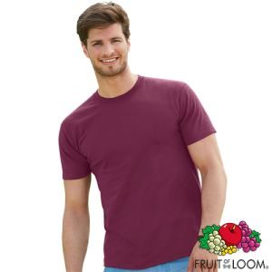 A Fruit of the Loom Super Premium T-Shirt offers great promotion for your brand
