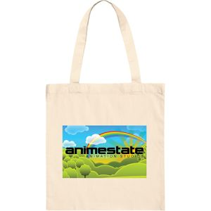 Branded tote bags for event merchandise